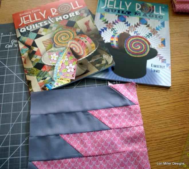 Lori Miller Designs  Chain saw quilt block
