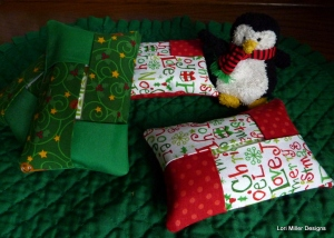 Mini tissue cover Lori Miller Designs 1