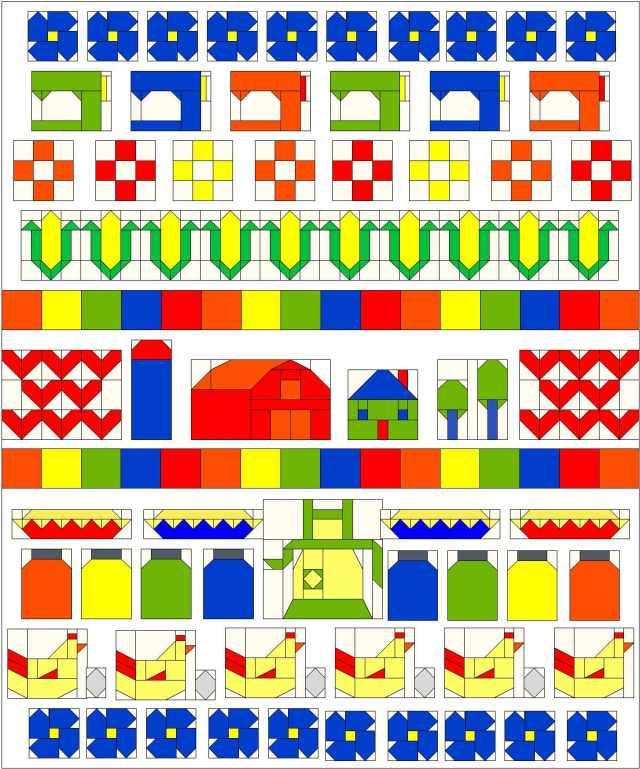 Grandma Town BOM Lori Miller Designs
