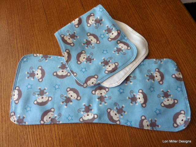 burp cloth - lori miller designs