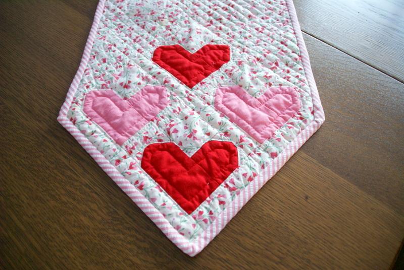 Sizzix heart quilt