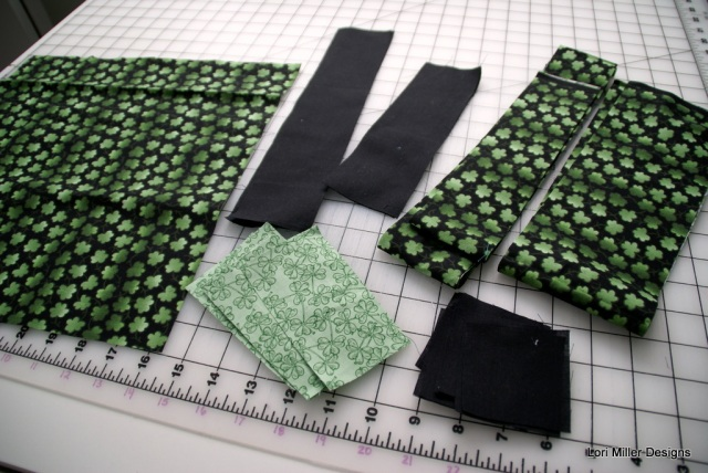 shamrock fabric Lori Miller Designs
