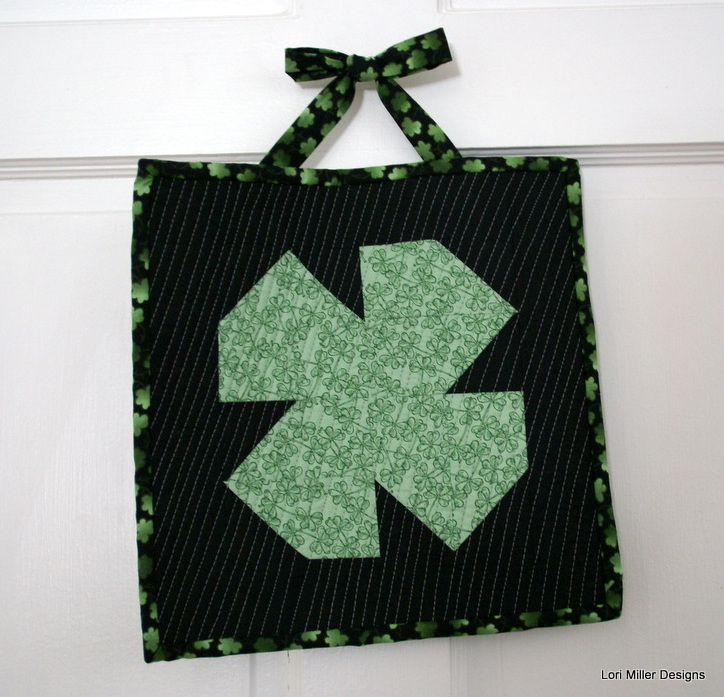 Easy Shamrock Door Decoration | Easy St Patrick's Day Decorations | Sewing Projects | Featured