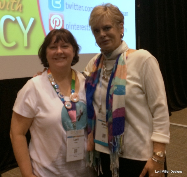 Nancy Zieman and myself