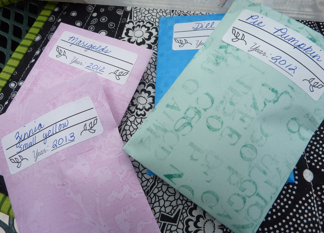 DIY Seed Packets – free tutorial | Lori Miller Designs