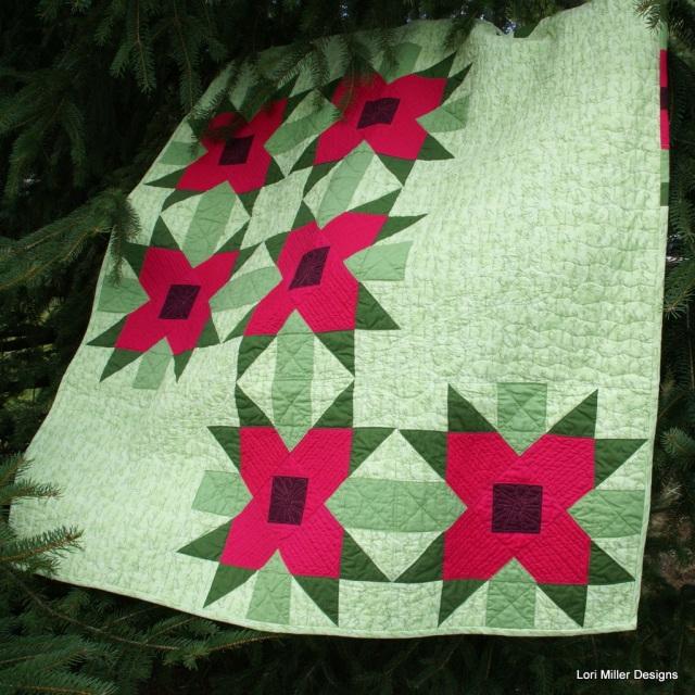 Modern Christmas Quilt Lori Miller Designs