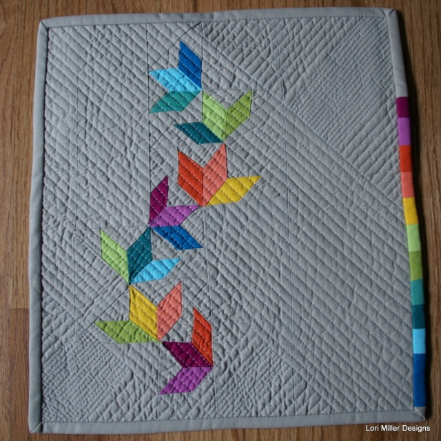 Tiny quilt challenge 2015 lori miller designs for Modern house quilts