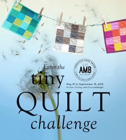 AMB Tiny quilt challenge