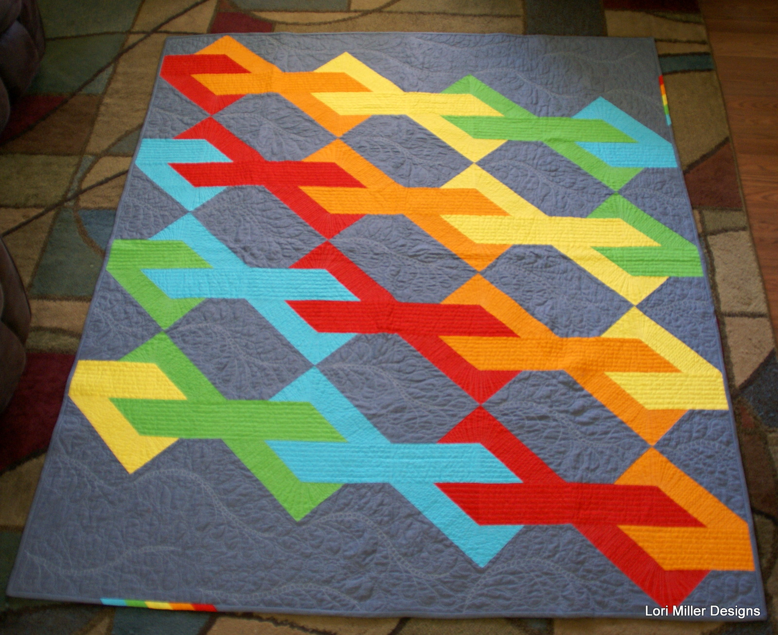 Infinity Quilt by Lori Miller Designs