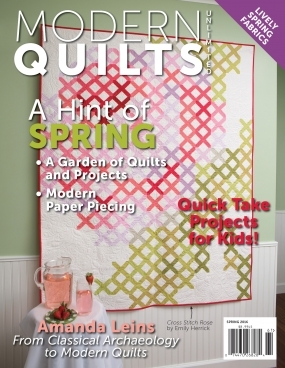 modern quilts unlimited spring 2016