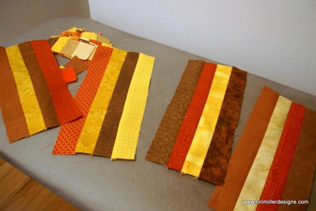 ear of corn quilt block | Lori Miller Designs