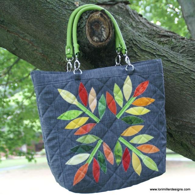 Quilted Totebag Pattern Lori Miller Designs