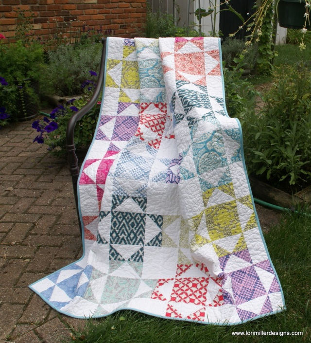 Free Tutorial Fiesta Quilt Lori Miller Designs