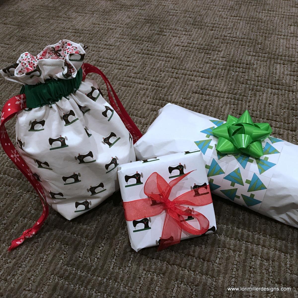 Free Tutorial Diy Wrapping Paper Or Fabric Lori Miller
