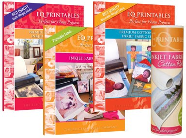 graphic regarding Printable Fabric Paper known as EQ Printable cloth sheets Lori Miller Types